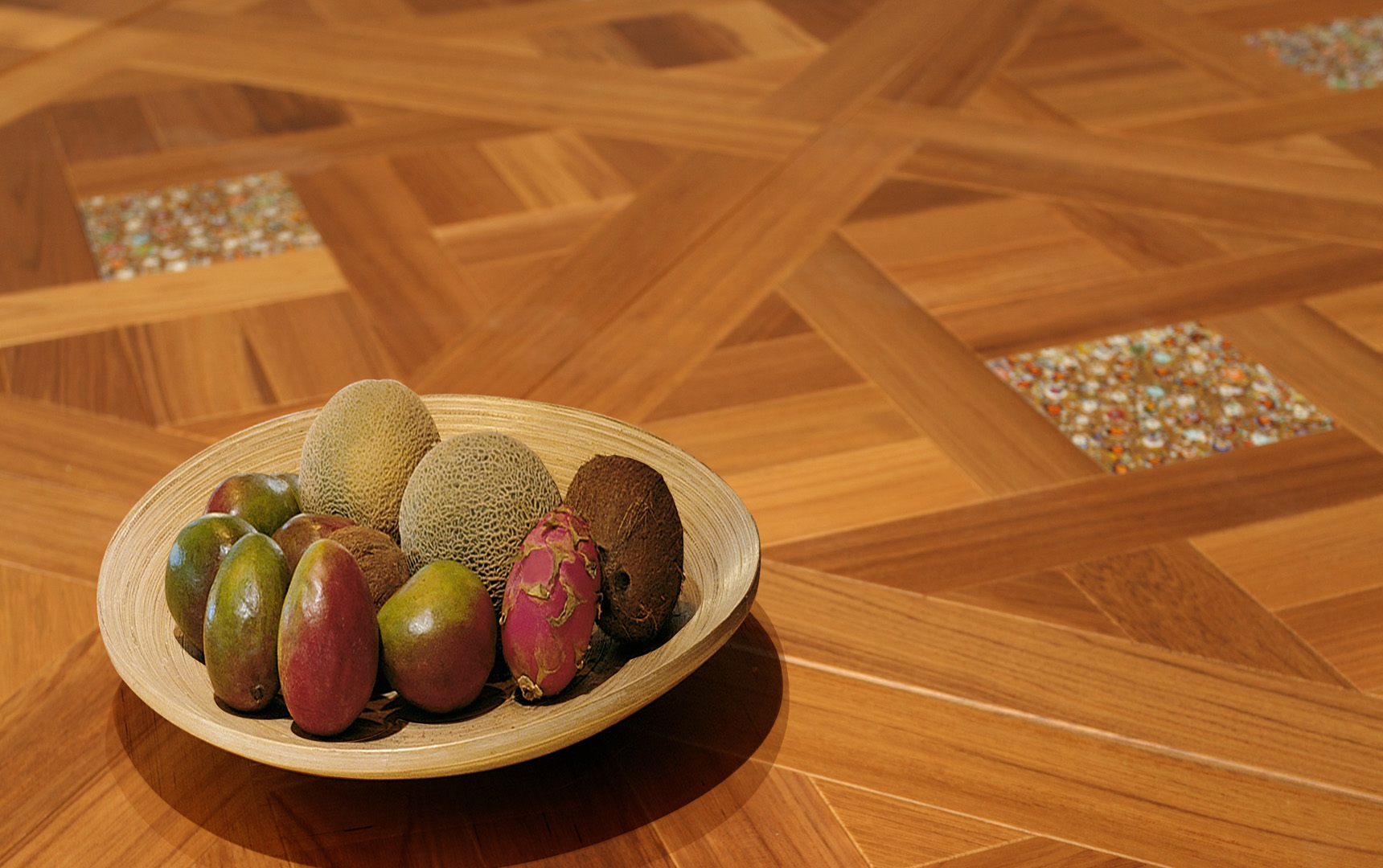 柚木1,进口地板