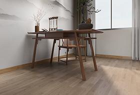 三拼英安岩灰色橡木,进口地板,环保地板