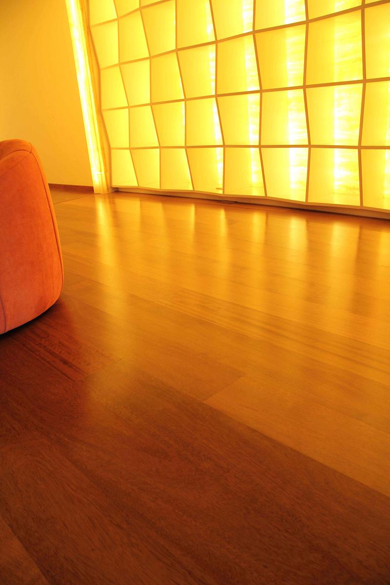 得高三层实木进口地板 择木而居,艺术装家! 图片11