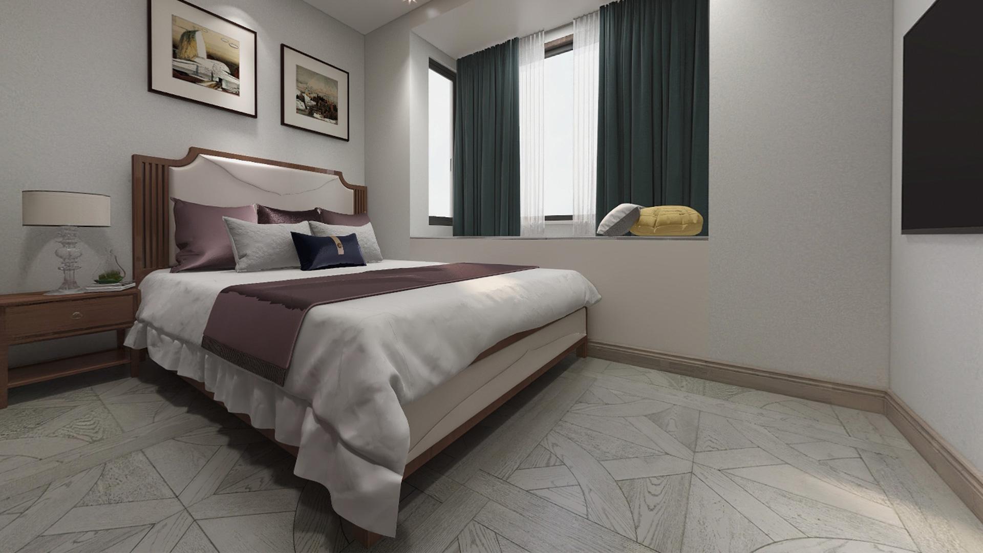 意大利GARBELOTTO实木复合地板,白金色博得鲁方拼