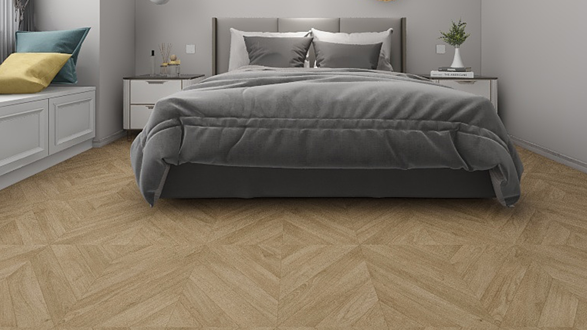 比利时QUICK-STEP艺术木地板,至臻拼花 IPA4160