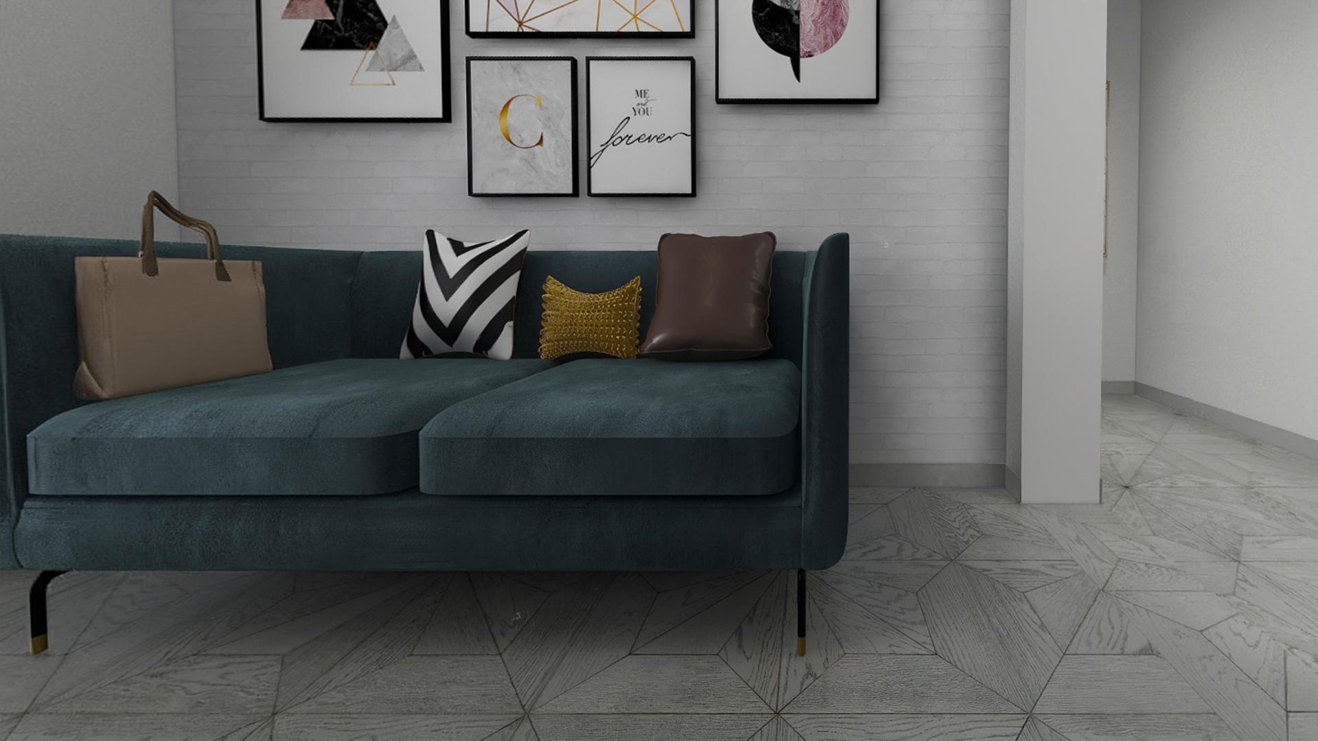 意大利GARBELOTTO实木复合地板,白金色罗马方拼