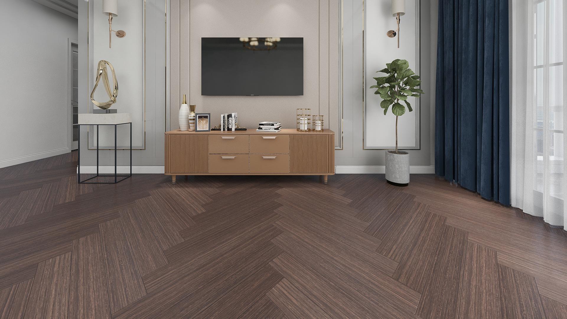比利时PAR-KY高科技实木复合地板,浅棕桦木拼花
