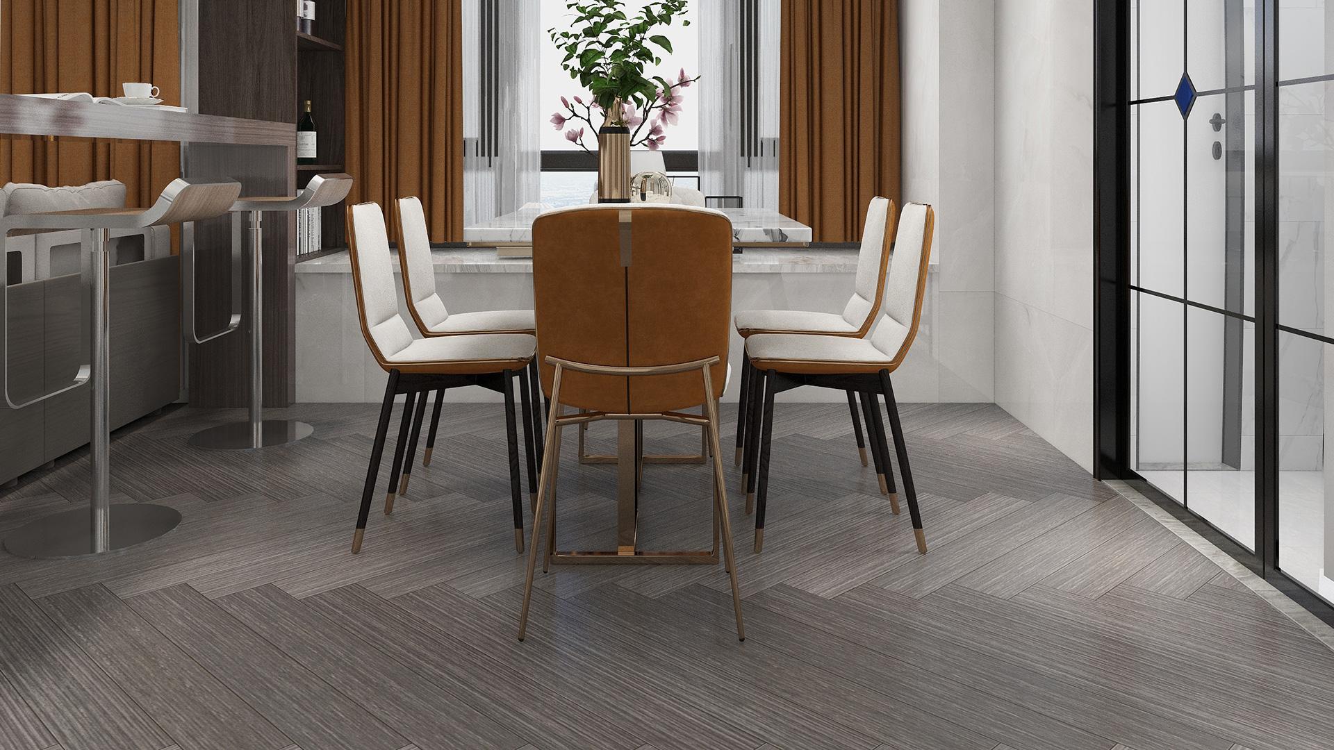 比利时PAR-KY高科技实木复合地板,银灰桦木拼花