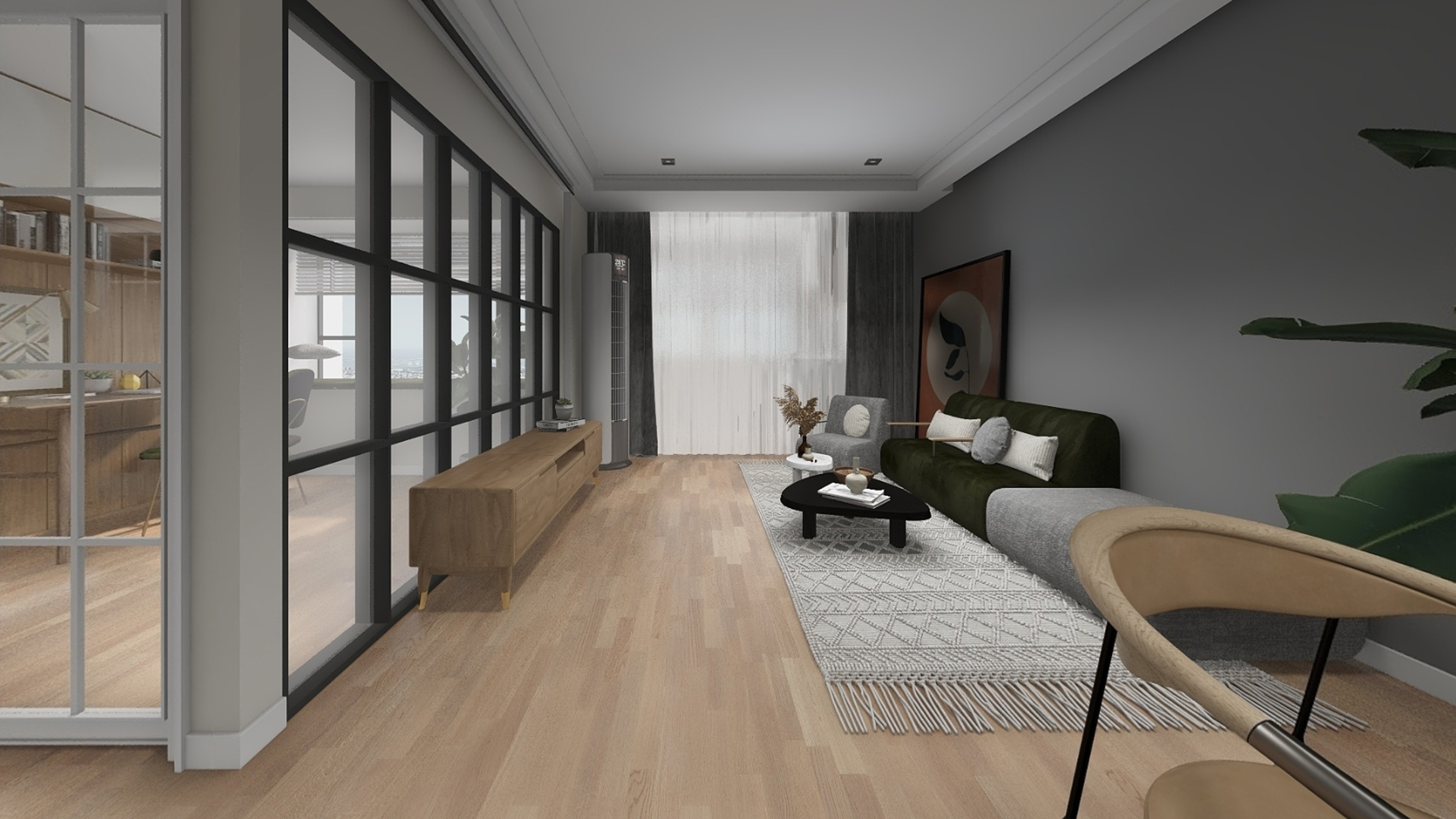 芬兰KARELIA三层实木地板,三拼精选亚光香草橡木