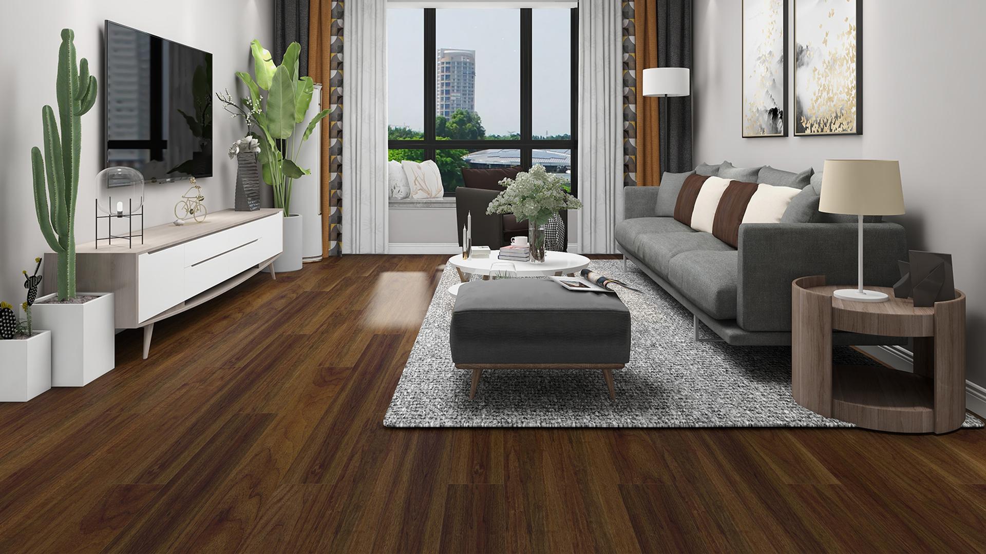 比利时PAR-KY高科技实木复合地板,奢华胡桃木