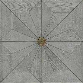 Creator拼花,白金色橡木罗马方拼(带玻璃)